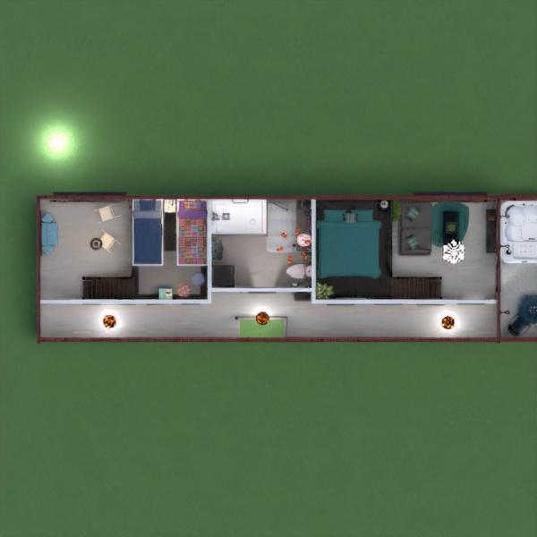 планировки дом прихожая 3d