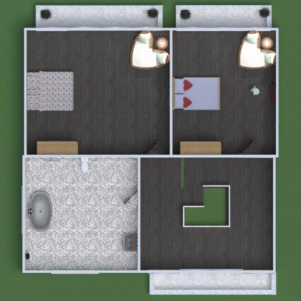 progetti casa bagno camera da letto esterno paesaggio 3d