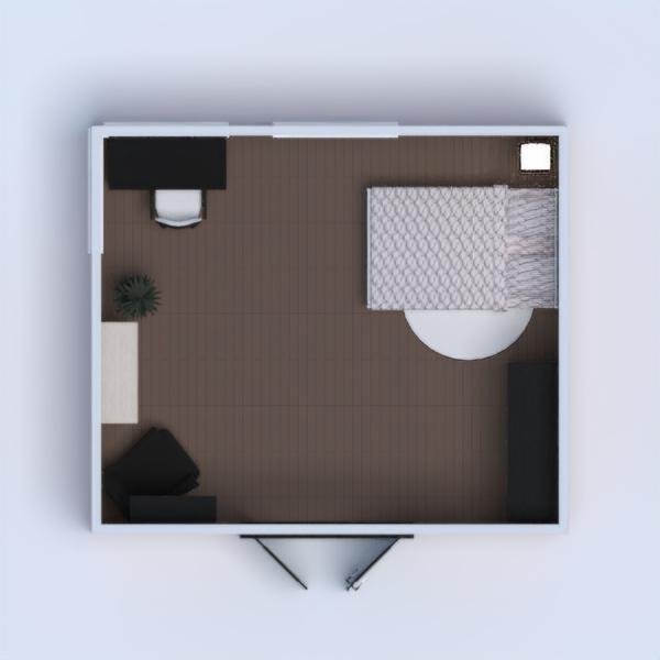 floorplans decoración dormitorio despacho 3d