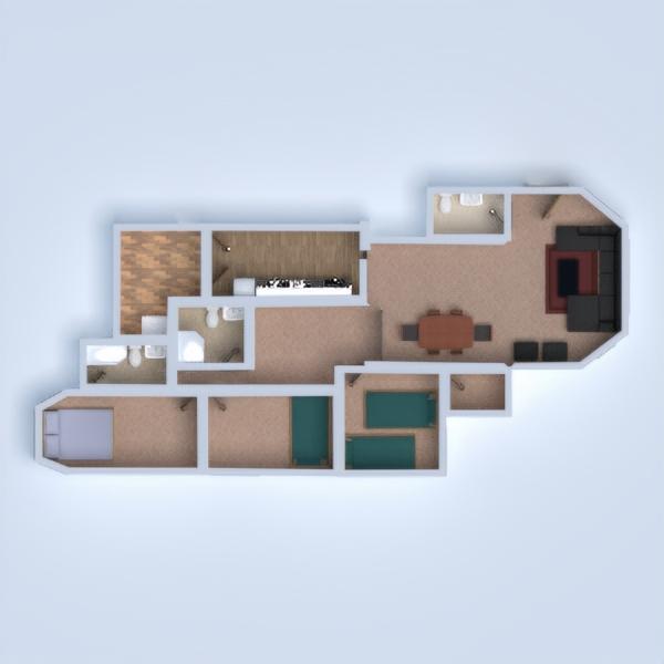 floorplans wohnung beleuchtung 3d