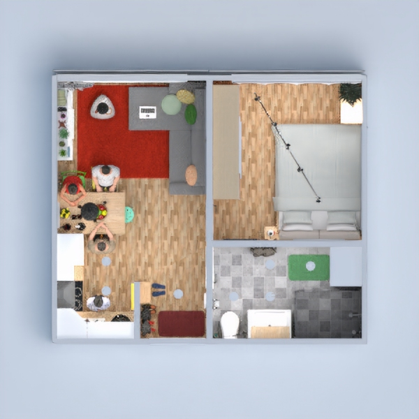 floorplans apartment bathroom bedroom living room kitchen landscape dining room entryway 3d