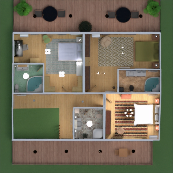 floorplans casa decoración cuarto de baño dormitorio salón garaje cocina exterior habitación infantil despacho iluminación hogar arquitectura trastero descansillo 3d