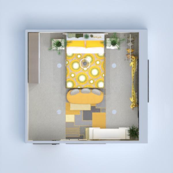 floorplans meble wystrój wnętrz sypialnia oświetlenie przechowywanie 3d