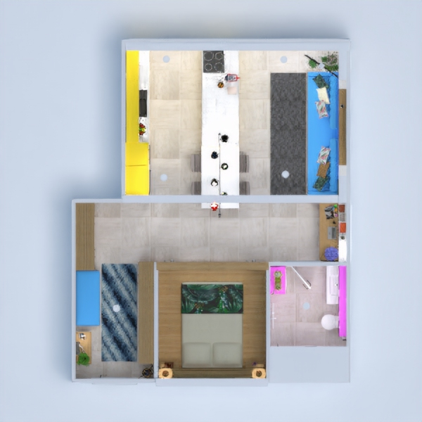 floorplans appartement meubles diy studio 3d