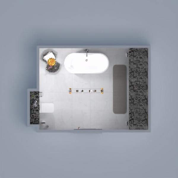 floorplans meble wystrój wnętrz łazienka oświetlenie 3d