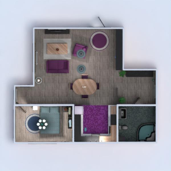 floorplans wohnung haus mobiliar dekor do-it-yourself badezimmer schlafzimmer wohnzimmer küche beleuchtung architektur studio eingang 3d