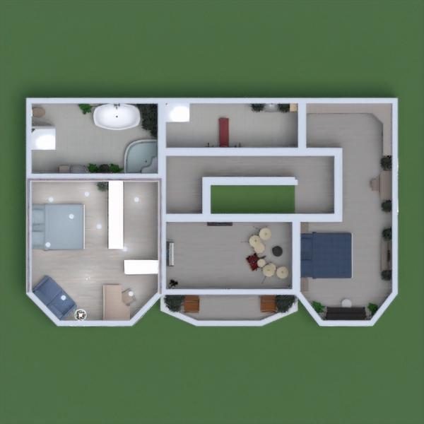 floorplans casa angolo fai-da-te camera da letto rinnovo 3d