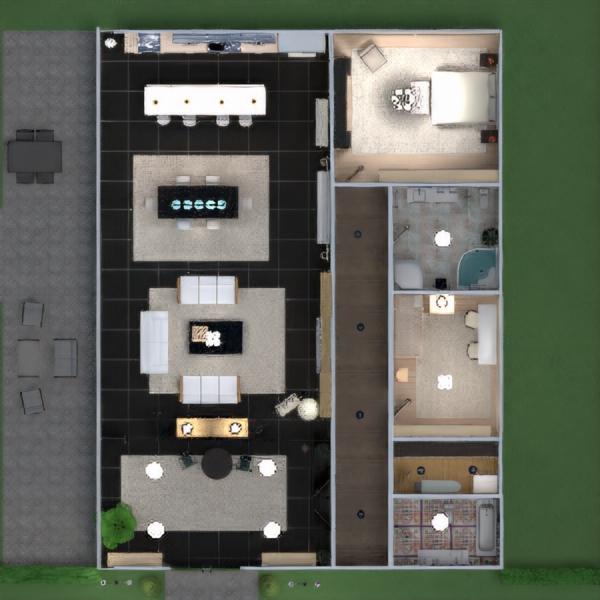 floorplans casa muebles decoración bricolaje cuarto de baño dormitorio salón cocina exterior habitación infantil iluminación paisaje hogar comedor arquitectura trastero estudio descansillo 3d