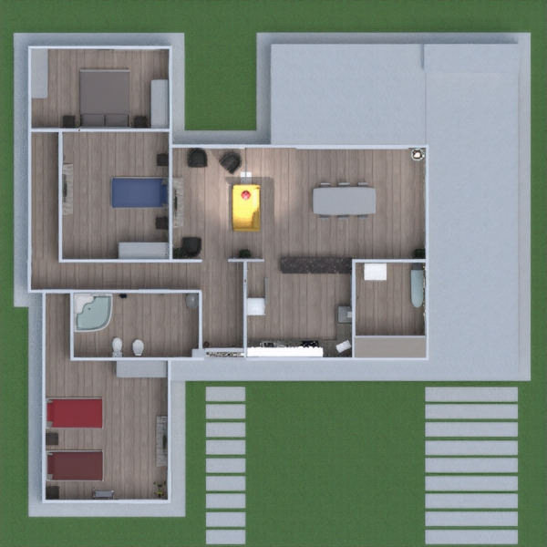 floorplans house decor outdoor landscape architecture 3d