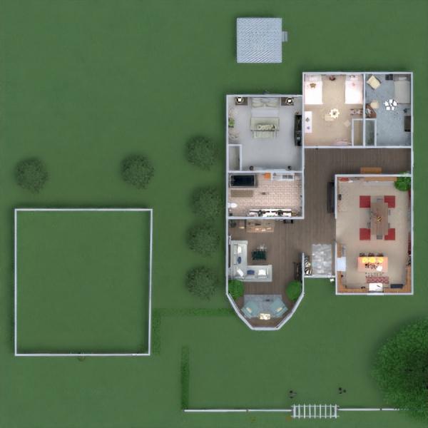 floorplans casa decoración cuarto de baño dormitorio cocina 3d