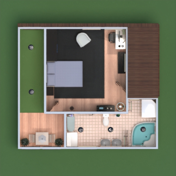 floorplans appartement terrasse salon extérieur bureau eclairage maison salle à manger entrée 3d