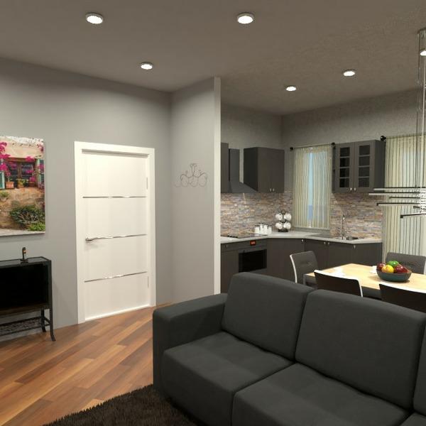 floorplans mieszkanie kuchnia oświetlenie remont architektura 3d