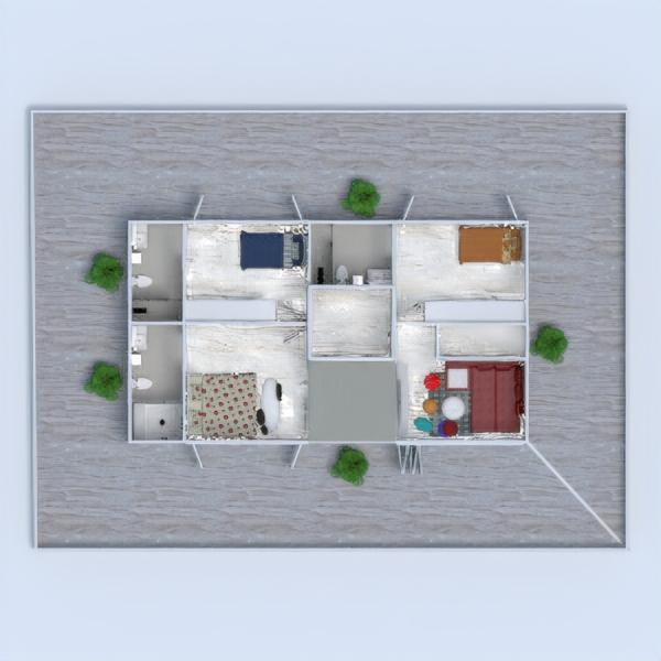 planos casa decoración exterior 3d