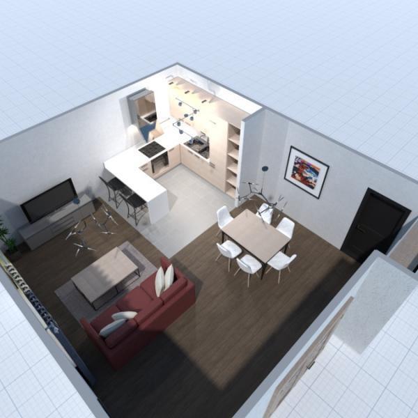 floorplans apartamento decoración salón iluminación arquitectura 3d