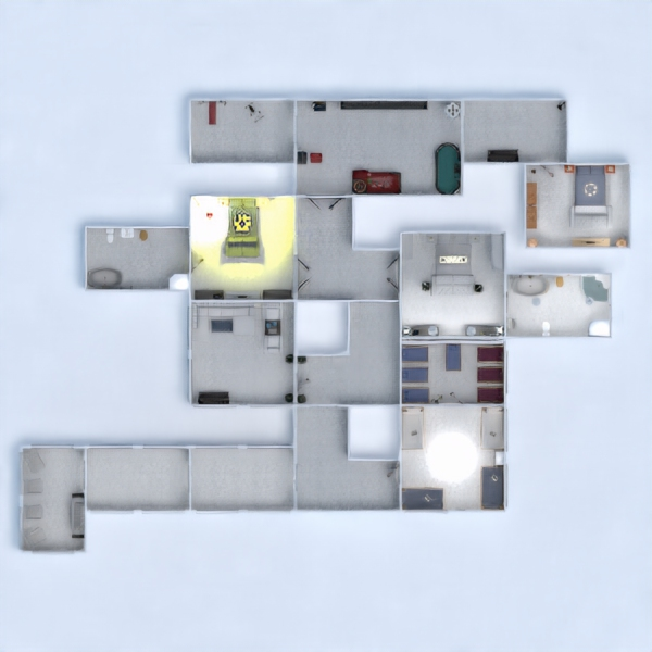floorplans bathroom bedroom living room kids room architecture 3d