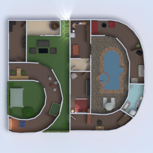 floorplans namas terasa baldai dekoras vonia miegamasis svetainė virtuvė eksterjeras vaikų kambarys biuras apšvietimas namų apyvoka kavinė valgomasis аrchitektūra 3d
