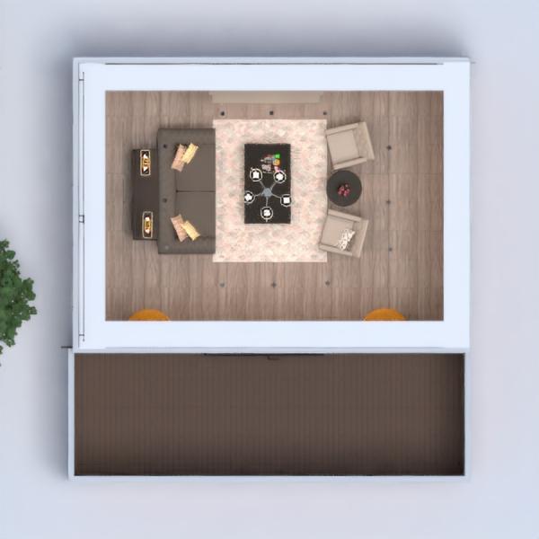 floorplans butas namas baldai dekoras svetainė apšvietimas renovacija sandėliukas 3d