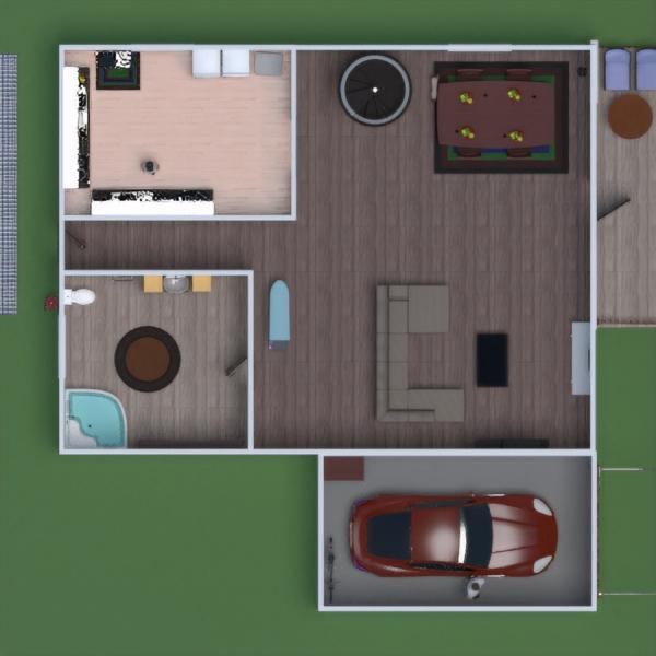 floorplans casa muebles cuarto de baño dormitorio salón 3d
