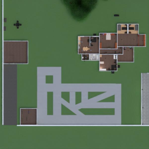 floorplans casa muebles cuarto de baño dormitorio exterior 3d