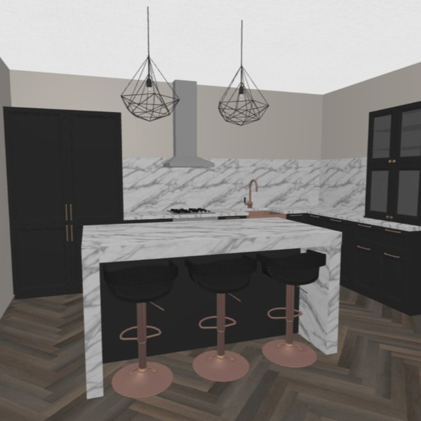 floorplans haus dekor wohnzimmer küche 3d