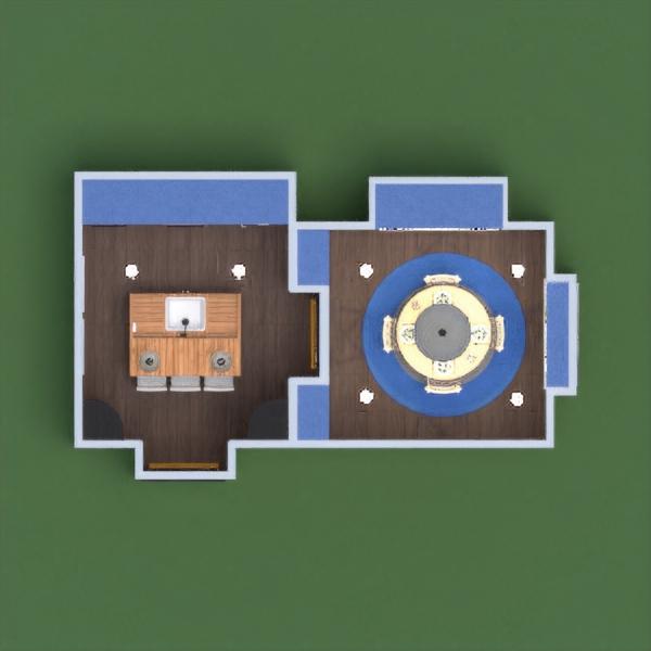 floorplans decor kitchen lighting household dining room architecture storage 3d