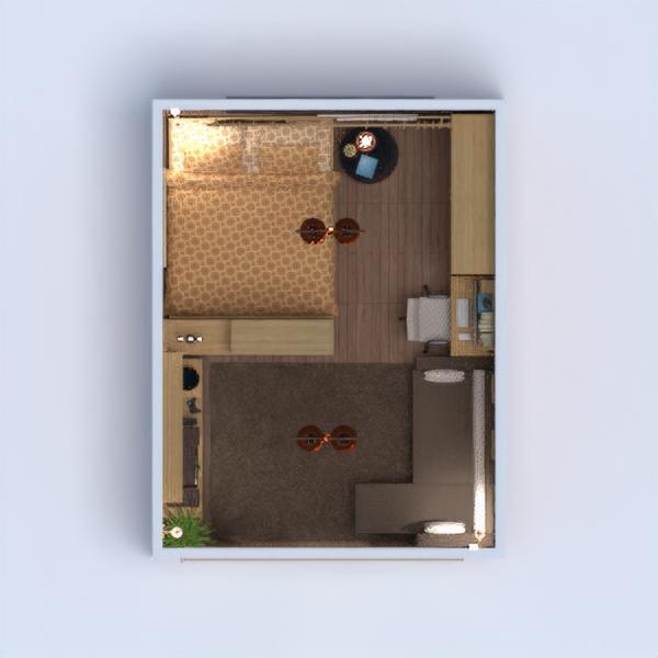 floorplans mobiliar dekor schlafzimmer wohnzimmer beleuchtung lagerraum, abstellraum 3d