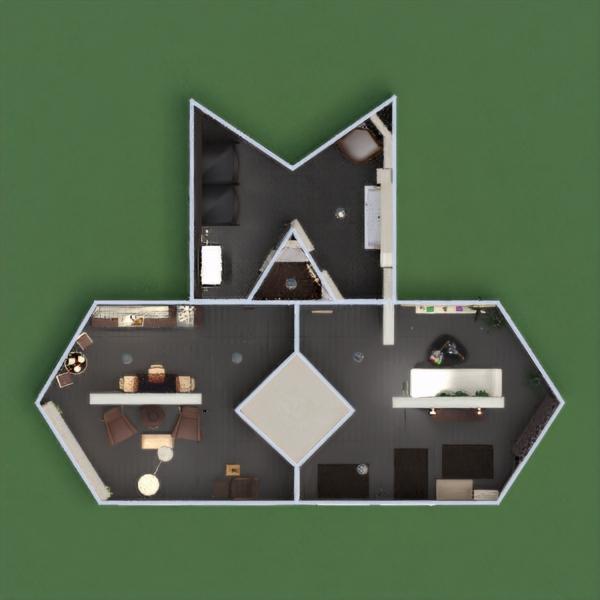floorplans butas baldai dekoras pasidaryk pats vonia svetainė virtuvė apšvietimas аrchitektūra sandėliukas prieškambaris 3d