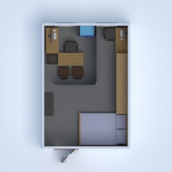 floorplans appartement salon 3d