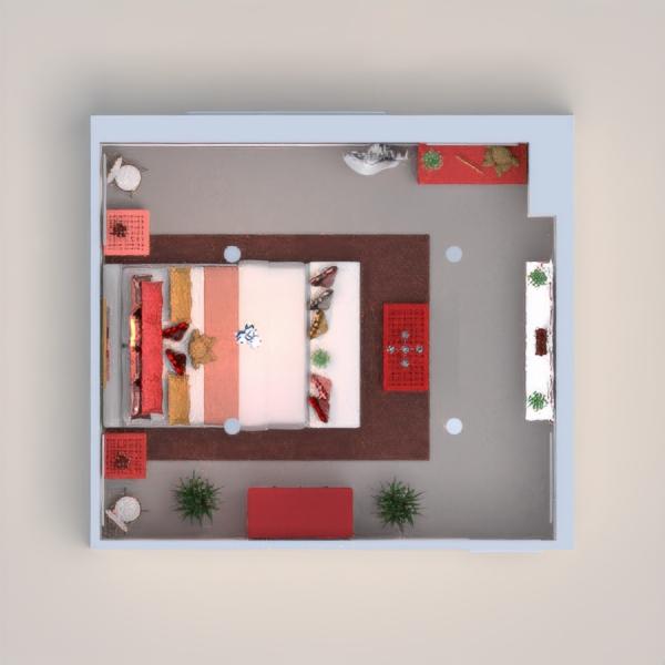 планировки спальня гостиная 3d