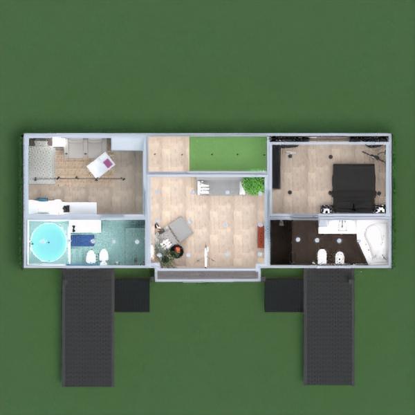 floorplans casa mobílias decoração faça você mesmo casa de banho dormitório quarto cozinha área externa sala de jantar patamar 3d