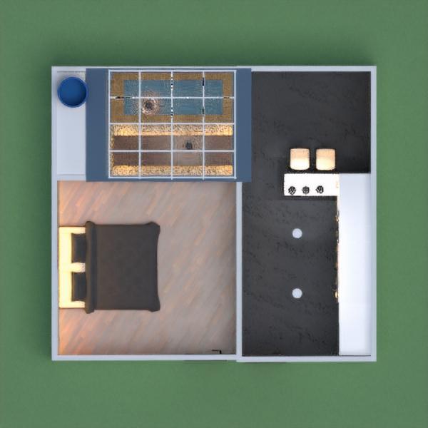 планировки дом спальня кухня улица столовая 3d