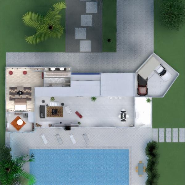floorplans house terrace furniture bathroom bedroom living room kitchen lighting dining room architecture 3d