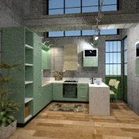floorplans furniture kitchen architecture 3d