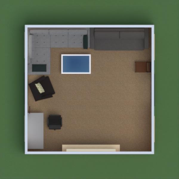 floorplans furniture decor living room office 3d
