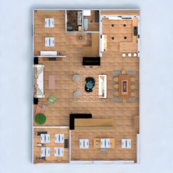 planos apartamento casa terraza muebles decoración bricolaje cuarto de baño dormitorio salón cocina despacho iluminación hogar comedor arquitectura trastero estudio descansillo 3d