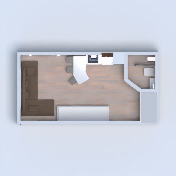 floorplans maison salon garage cuisine studio 3d
