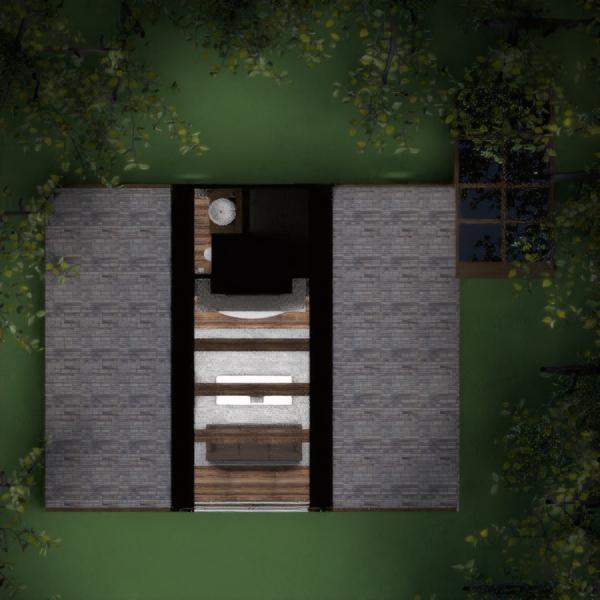 floorplans haus mobiliar dekor wohnzimmer küche 3d