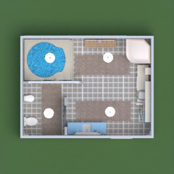 floorplans decoración cuarto de baño iluminación trastero 3d
