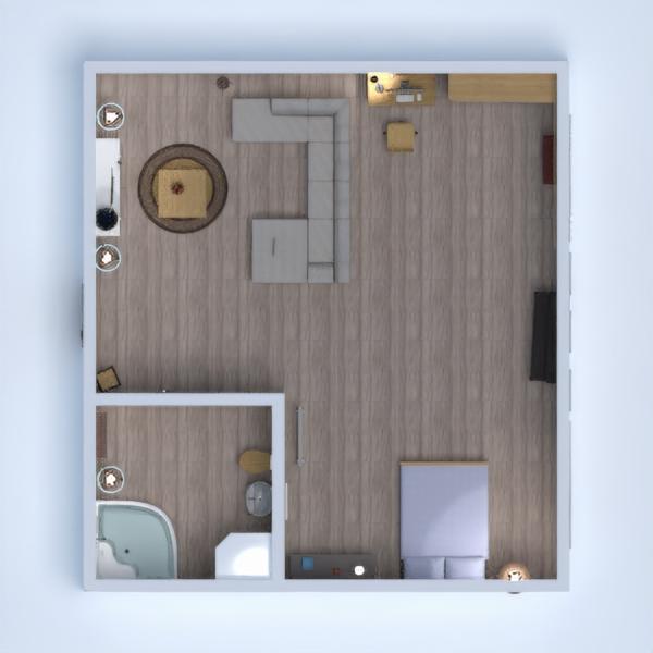 floorplans arredamento decorazioni camera da letto 3d