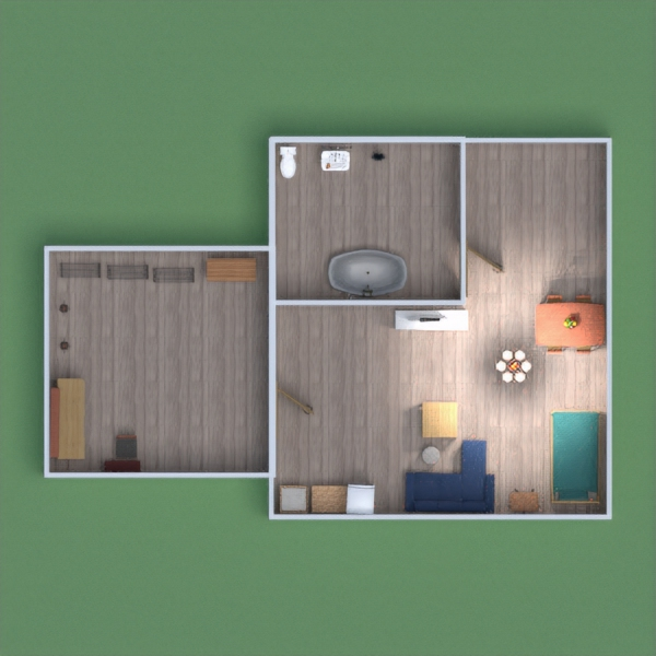 floorplans appartement garage 3d