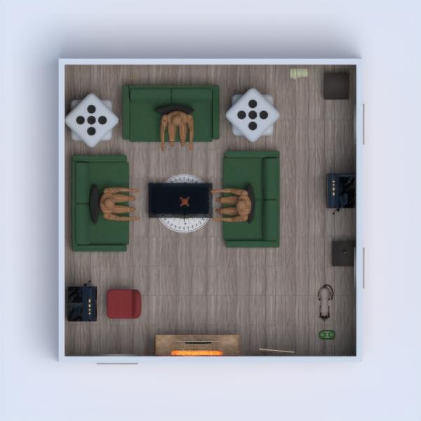 floorplans household dining room 3d