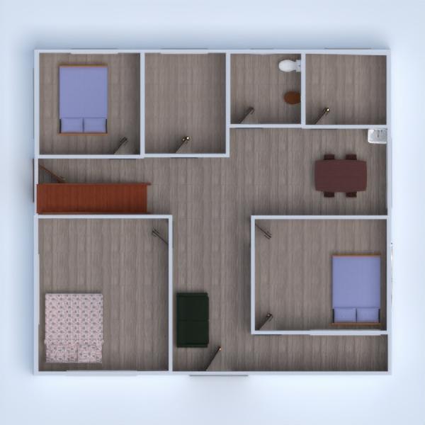 floorplans house bathroom bedroom living room kitchen dining room 3d