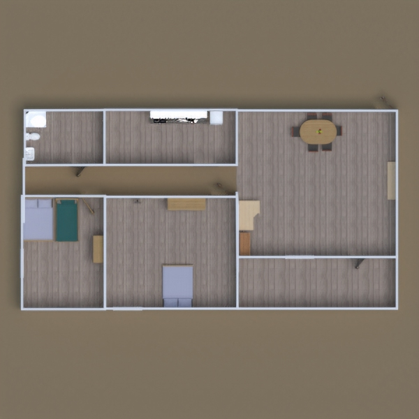 floorplans apartment bathroom bedroom lighting dining room 3d