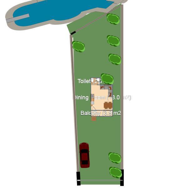 floorplans casa cuarto de baño dormitorio paisaje hogar 3d