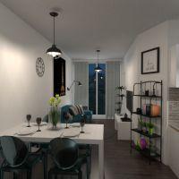 floorplans квартира терраса ванная спальня гостиная кухня улица столовая 3d