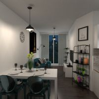 floorplans apartment terrace bathroom bedroom living room kitchen outdoor dining room 3d