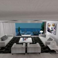floorplans apartment house terrace furniture bathroom bedroom living room kitchen dining room architecture studio 3d