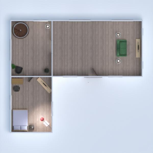 floorplans kinderzimmer büro 3d