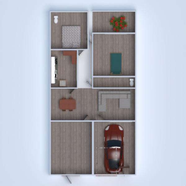 floorplans terrasse garage küche 3d