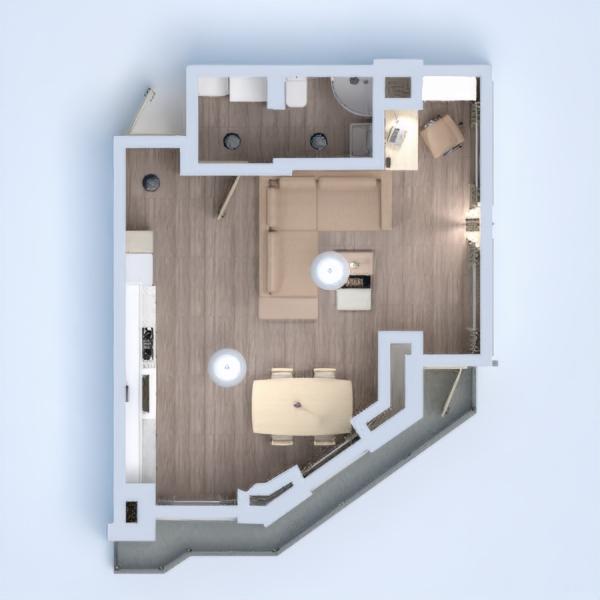 floorplans квартира терраса мебель декор сделай сам 3d